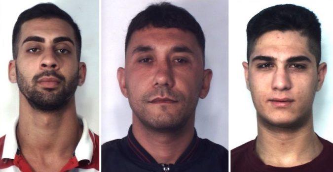 CATANIA: Trovati con 58 dosi di marijuana da spacciare: tre arresti