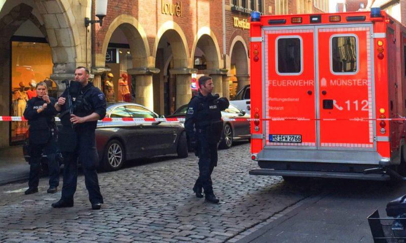 Terrore in Germania, furgone tra la folla: morti e feriti