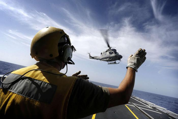 Cade elicottero Marina, morto un militare Catanese