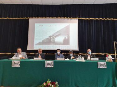 da sinistra Alfredo Nicotra, Luciano Sambataro, Salvo Fallica, Luigi Sanfilippo, Nino Naso