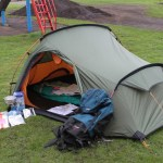 Typical ATC Tent and Expedition Equipment