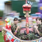Cadets on a Merry-Go-Round