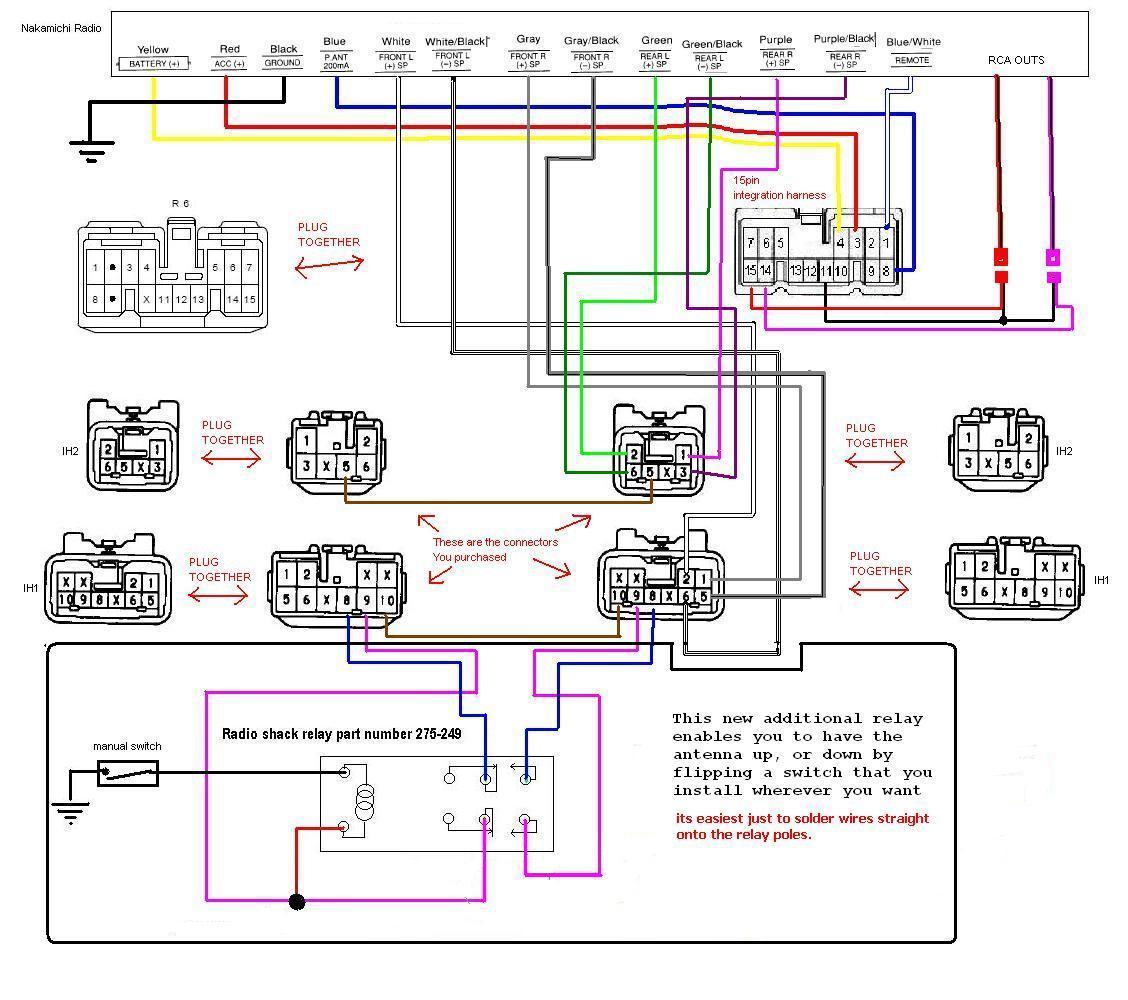 alpine cde 121 wiring harness diagram: cda 105 alpine wire harness diagram  - dolgular