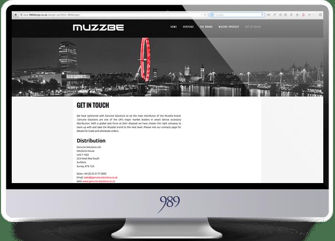 muzzbe website design weybridge surrey