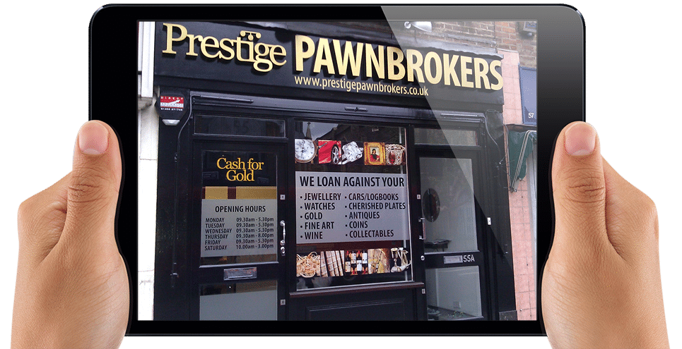 shop signage surrey prestige pawnbrokers 989 design