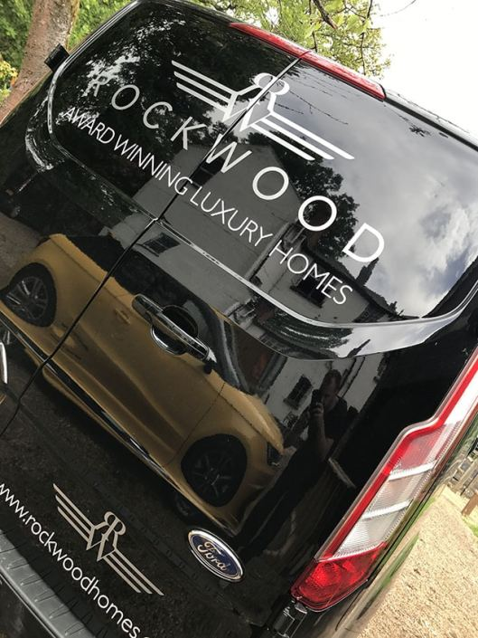 cut silver vinyl vehicle graphics