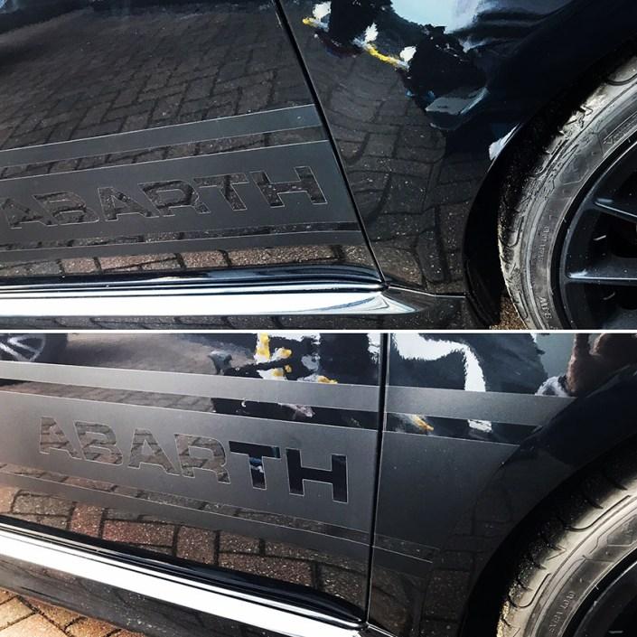 cut vinyl vehicle graphics for body shop repairs