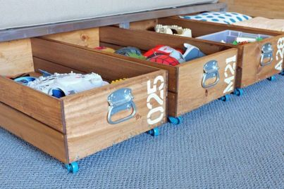 Creative Toy Storage Ideas for Small Spaces 03