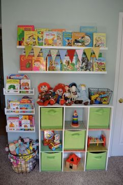 Creative Toy Storage Ideas for Small Spaces 74