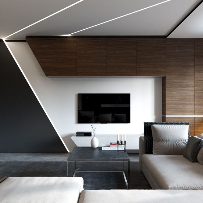 Incredibly Minimalist Contemporary Living Room Design Ideas 18