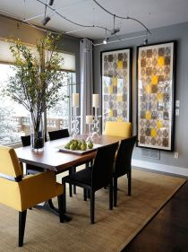 Inspiring Contemporary Style Decor Ideas For Dining Room 21