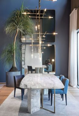 Inspiring Contemporary Style Decor Ideas For Dining Room 26