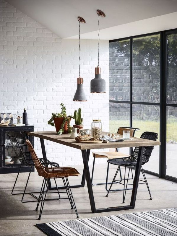 Inspiring Contemporary Style Decor Ideas For Dining Room 42