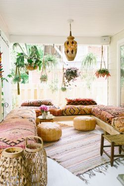 Modern Rustic Bohemian Living Room Design Ideas 06