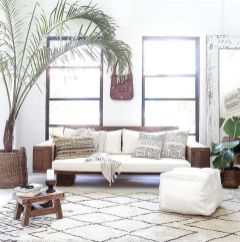 Modern Rustic Bohemian Living Room Design Ideas 31