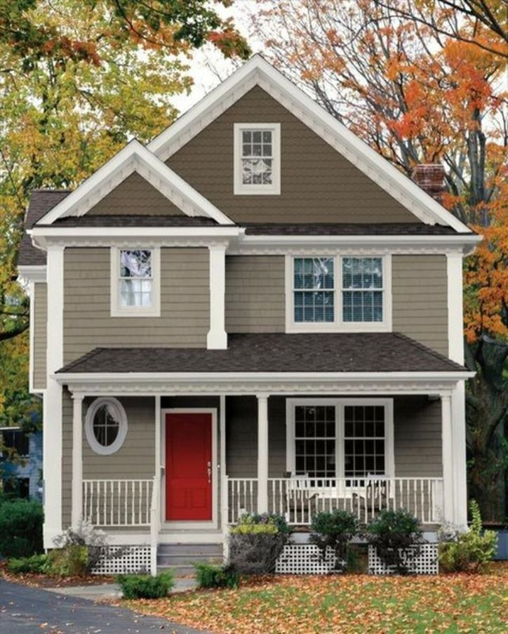 Modern Trends Farmhouse Exterior Paint Colors Ideas 2017 12