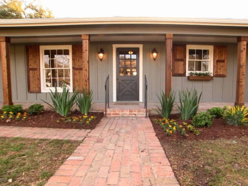 Modern Trends Farmhouse Exterior Paint Colors Ideas 2017 28