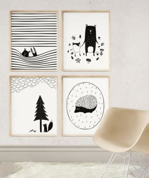 Modern And Minimalist Wall Art Decoration Ideas 27