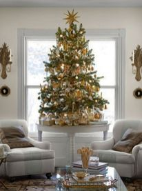 Space Saving Christmas Tree Ideas Suitable For Small Rooms 01