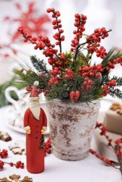 Beautiful Red Themed Kitchen Design Ideas For Christmas 37