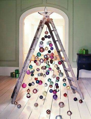 Easy And Creative DIY Christmas Tree Design Ideas You Can Try As Alternatives 06