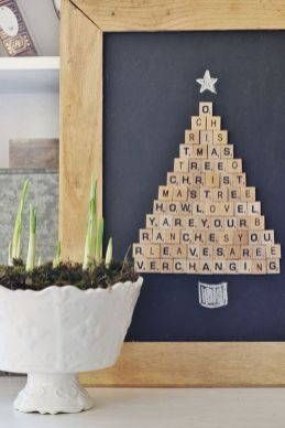 Easy And Creative DIY Christmas Tree Design Ideas You Can Try As Alternatives 55