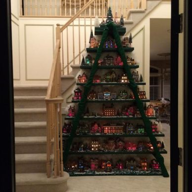 Easy And Creative DIY Christmas Tree Design Ideas You Can Try As Alternatives 56