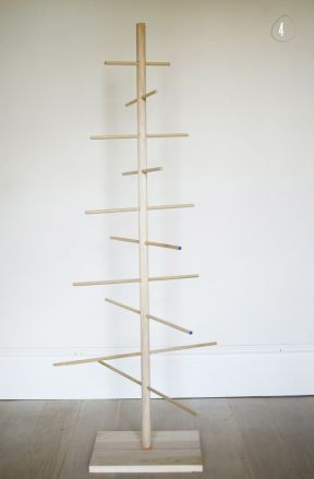 Easy And Creative DIY Christmas Tree Design Ideas You Can Try As Alternatives 61