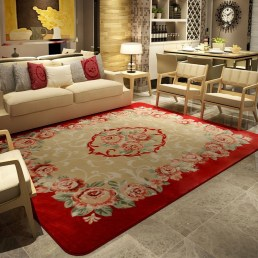 Inspiring Living Room Decoration Ideas With Carpet 09
