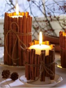Inspiring Modern Rustic Christmas Centerpieces Ideas With Candles 01