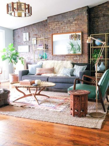 Modern And Elegant Living Room Design Ideas For Small Space 25