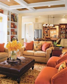 Modern And Elegant Living Room Design Ideas For Small Space 56