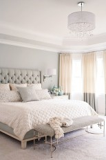 Modern And Elegant White Master Bedroom Decoration Ideas 10
