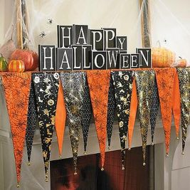 Scary But Classy Halloween Fireplace Decoration Ideas 78