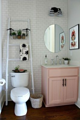 Simple And Clean Apartment Bathroom Decoration Ideas Suitable For You Who Living With Roomates 08
