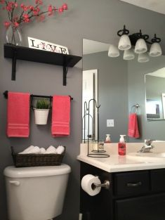 Simple And Clean Apartment Bathroom Decoration Ideas Suitable For You Who Living With Roomates 12