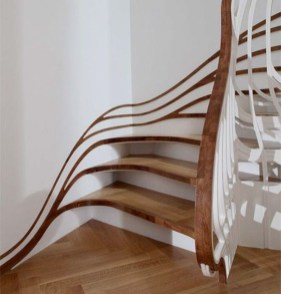 Totally Inspiring Residential Staircase Design Ideas You Can Apply For Your Home 71