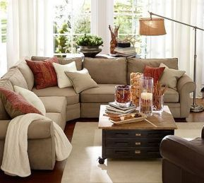 Totally Outstanding Sectional Sofa Decoration Ideas With Lamps 23