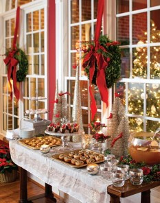 Elegant Christmas Table Decoration Ideas25