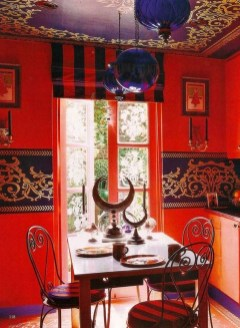 Exquisite Moroccan Dining Room Decoration Ideas11