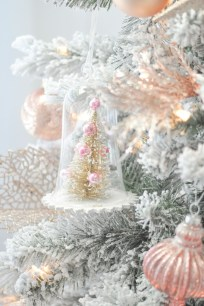 Totally White Vintage Christmas Decoration Ideas34