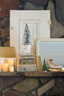 Totally White Vintage Christmas Decoration Ideas43