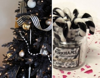 Unique And Unusual Black Christmas Decoration Ideas 46