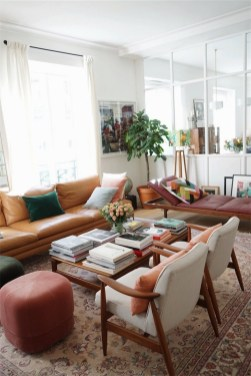 Bright And Colorful Living Room Design Ideas25