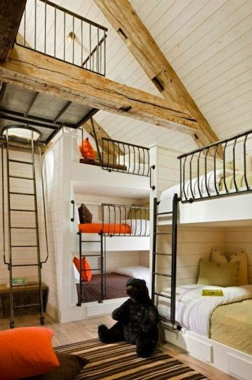 Cool And Functional Built In Bunk Beds Ideas For Kids22