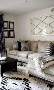 Cozy And Modern Living Room Decoration Ideas 16