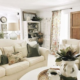 Cozy Neutral Living Room Decoration Ideas 01