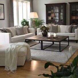Cozy Neutral Living Room Decoration Ideas 42