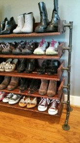 Creative Diy Industrial Shoe Rack Ideas 02