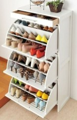 Creative Diy Industrial Shoe Rack Ideas 12